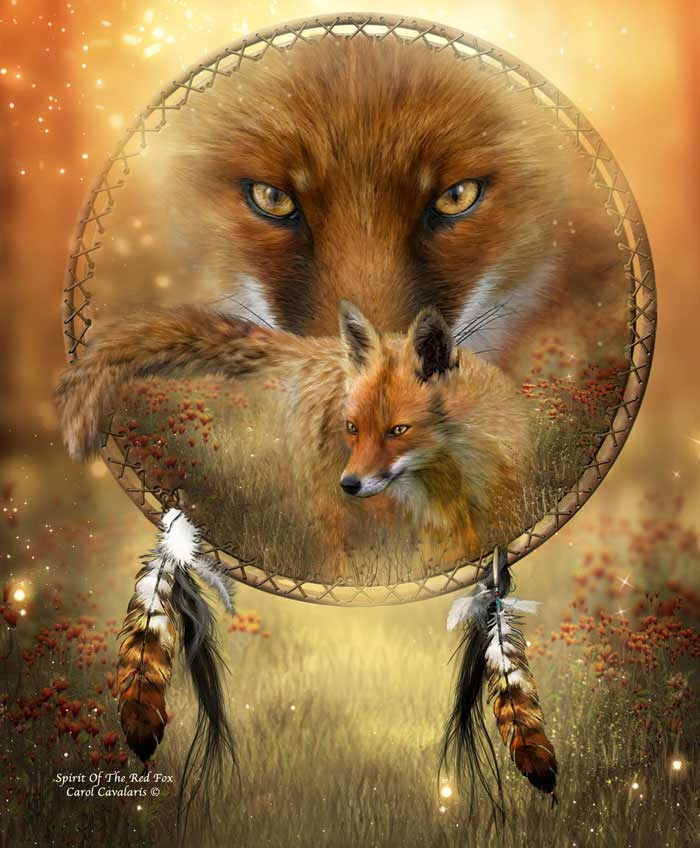 Spirit Of The Red Fox