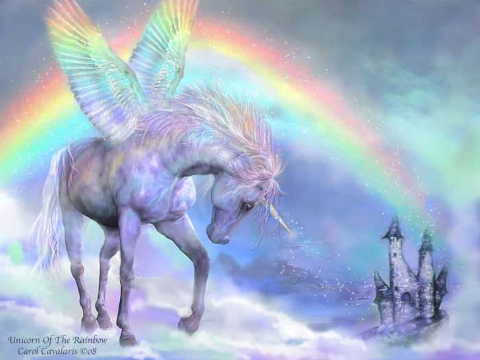 Unicorn Of The Rainbow