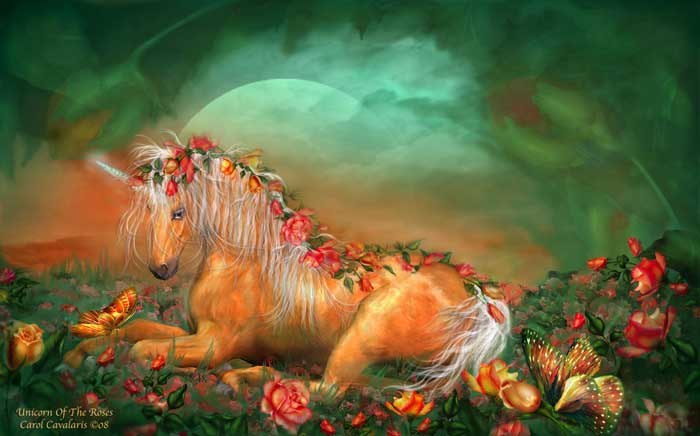 Unicorn Of The Roses