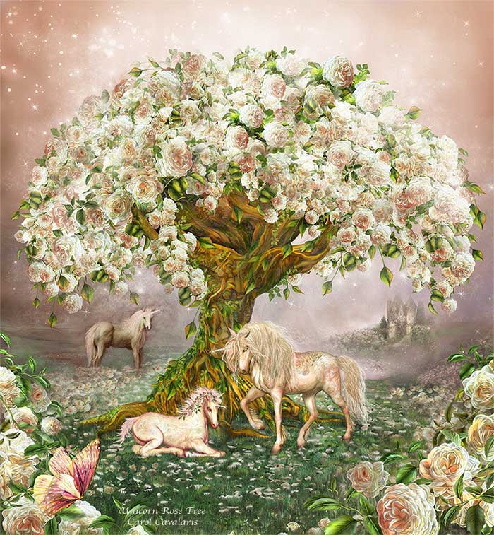 Unicorn Rose Tree