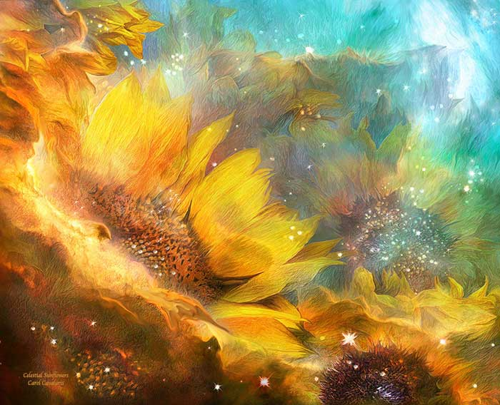 Celestial Sunflower