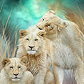 White Lion Family Mothering